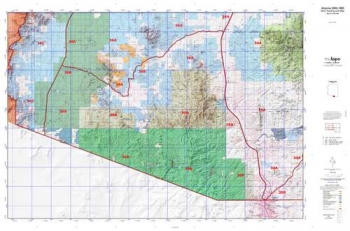 Arizona GMU 34A Hunting Unit Map