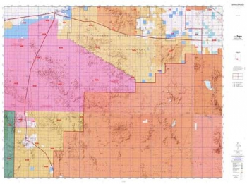 Arizona GMU 21 Hunting Unit Map