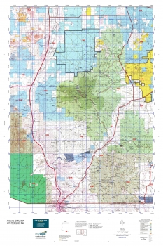 Arizona gmu 34a hunting unit map for Arizona game and fish locations