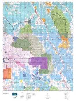 Arizona gmu 33 hunting unit map for Arizona game and fish locations